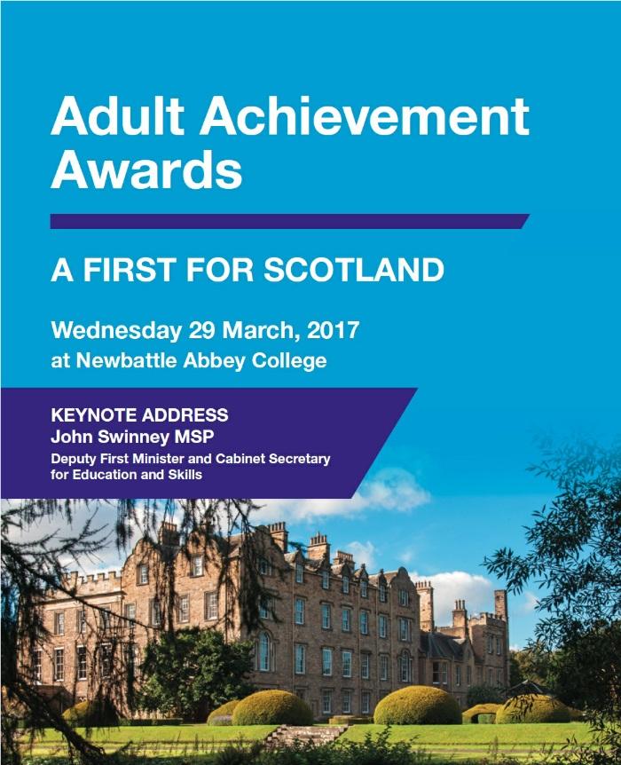 Celebrating achievement in adult learning : AJ Enterprises